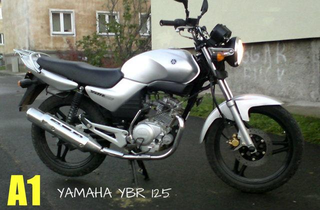 A1-kat YAMAHA YBR 125