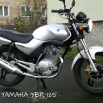 А1-кат YAMAHA YBR 125