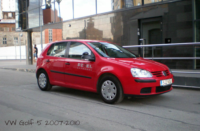 VW Golf 5 2007-2010